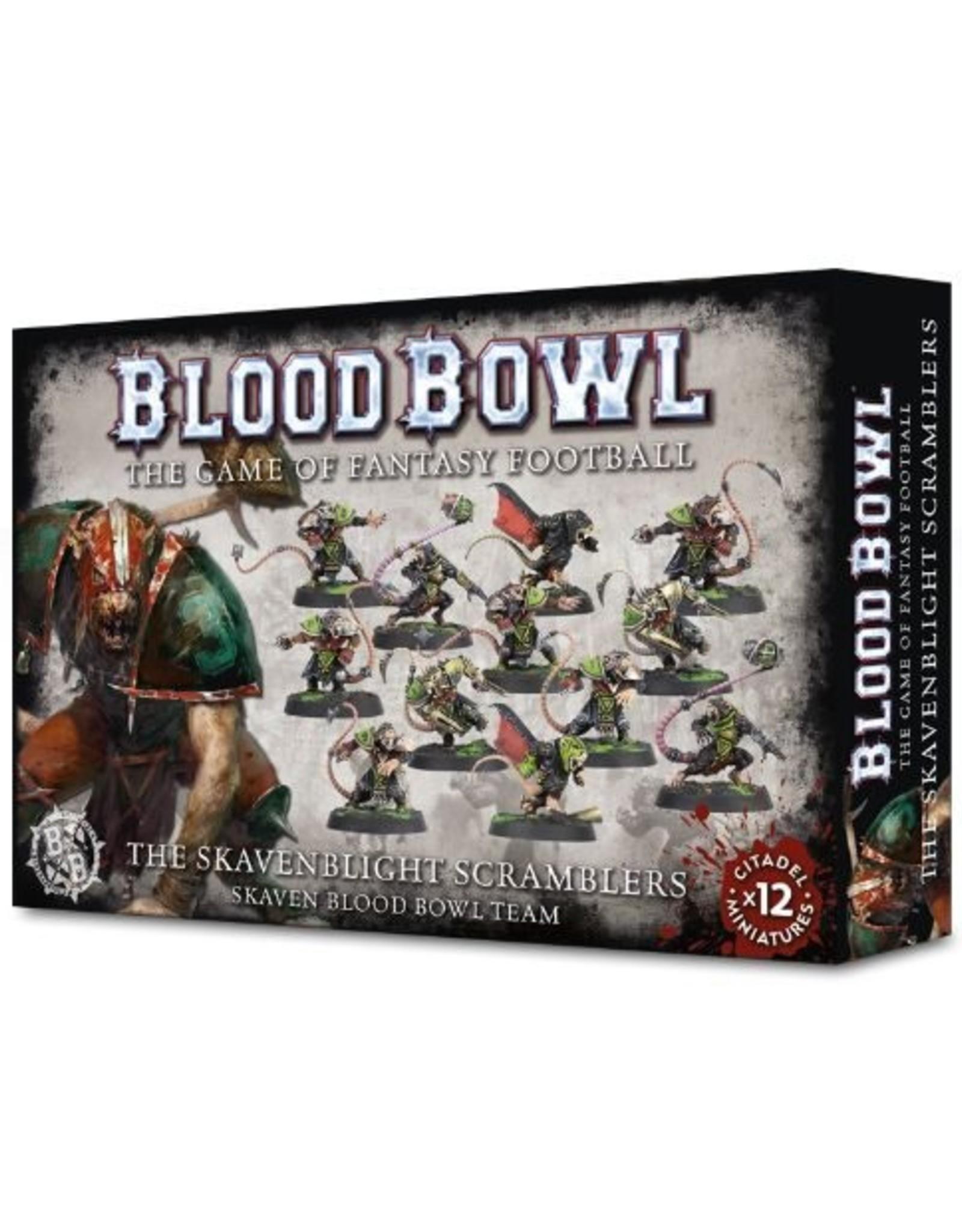 Games Workshop Blood Bowl The Skavenblights Scramblers
