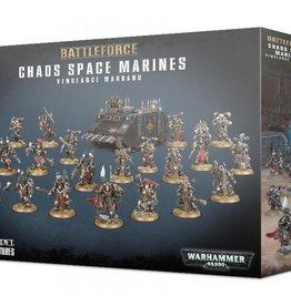 Games Workshop Chaos Space Marines Battleforce Vengeance Warband