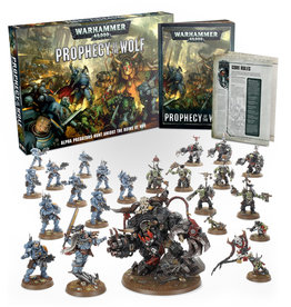 Games Workshop Warhammer 40.000 Prophecy of the Wolf
