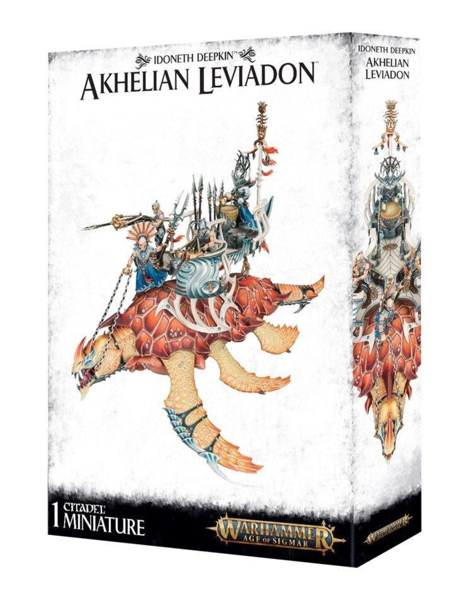 Games Workshop Idoneth Deepkin Akhelian Leviadon
