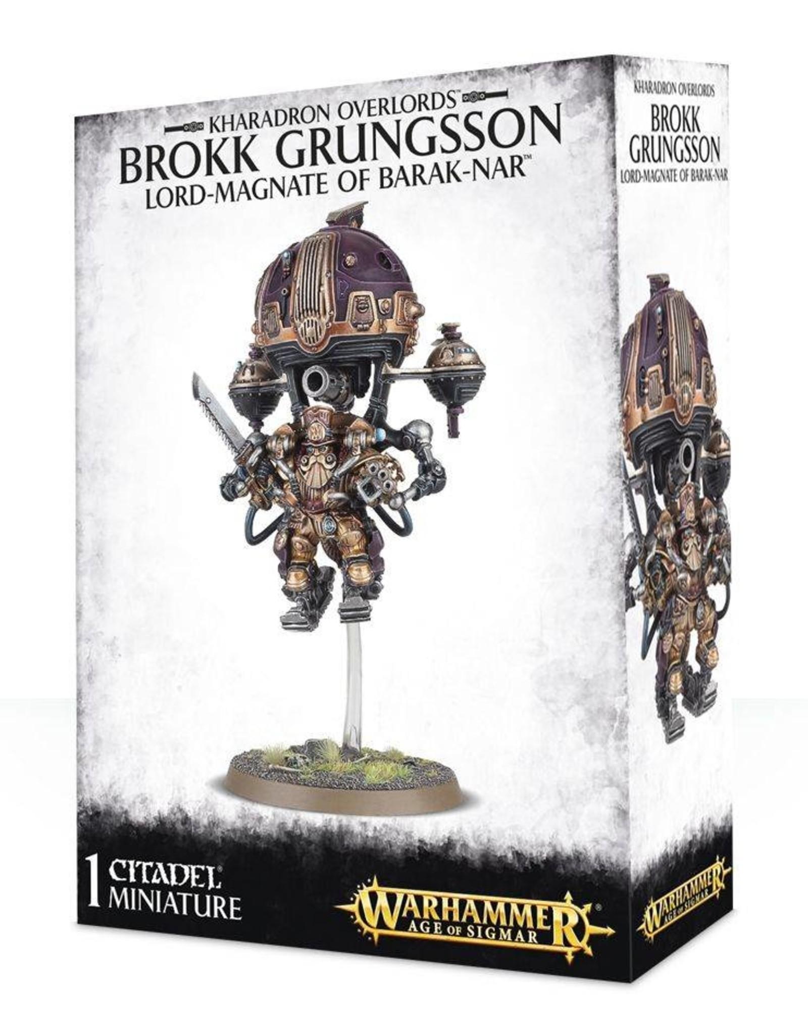 Games Workshop Kharadron Overlords Brokk Grungsson. Lord-Magnate Barak-Nar