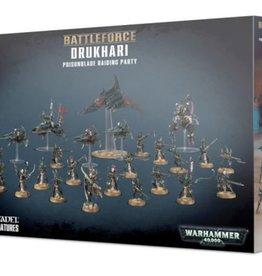 Games Workshop Drukhari Battleforce Poisonblade Raiding Party