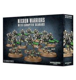 Games Workshop Necrons Warriors with Canoptek Scarabs