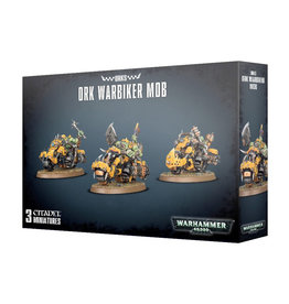 Games Workshop Orks Warbiker Mob