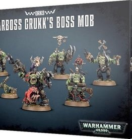 Games Workshop Orks Warboss Grukk's Boss Mob
