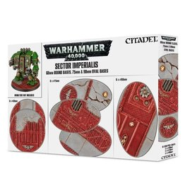 Games Workshop Sector Imperialis: 60mm round bases. 75mm & 90mm