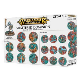 Games Workshop Shattered Dominion: 25mm & 32mm Round Bases