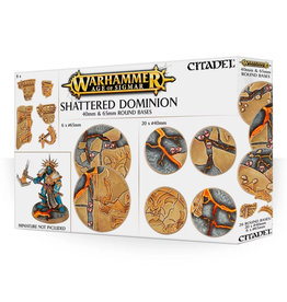Games Workshop Shattered Dominion: 40mm & 65mm Round Bases