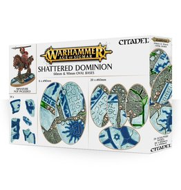 Games Workshop Shattered Dominion: 60mm & 90mm Oval Bases