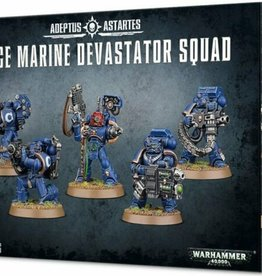 Games Workshop Space Marines Devastator Squad