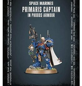 Games Workshop Space Marines Primaris Captain in Phobos Armour