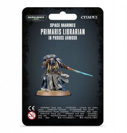 Games Workshop Space Marines Primaris Librarian in Phobos Armour