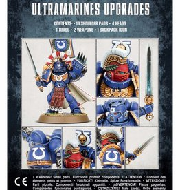 Games Workshop Space Marines Ultramarines Upgrades