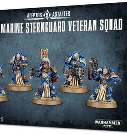 Games Workshop Space Marines Sternguard Veteran Squad