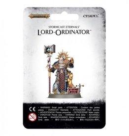 Games Workshop Stormcast Eternals Lord-Ordinator with Astral Grandhammer