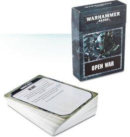 Games Workshop Warhammer 40.000 Open War cards