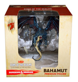 Wizkids D&D Icons of the Realms Bahamut The Platinum Dragon