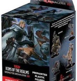 Wizkids D&D Icons of the Realms Monster Menagerie III Booster