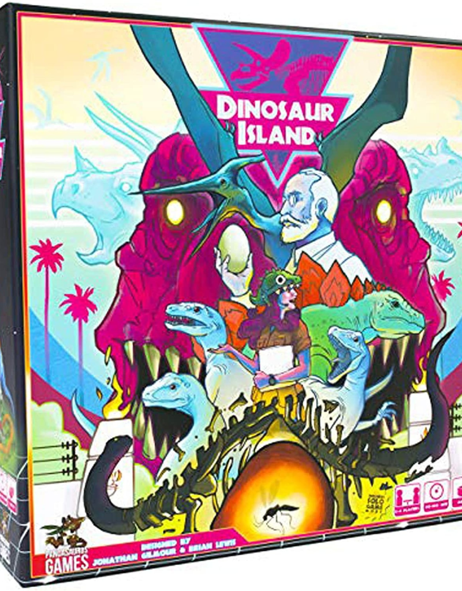 Pandasaurus Games Dinosaur Island (EN)