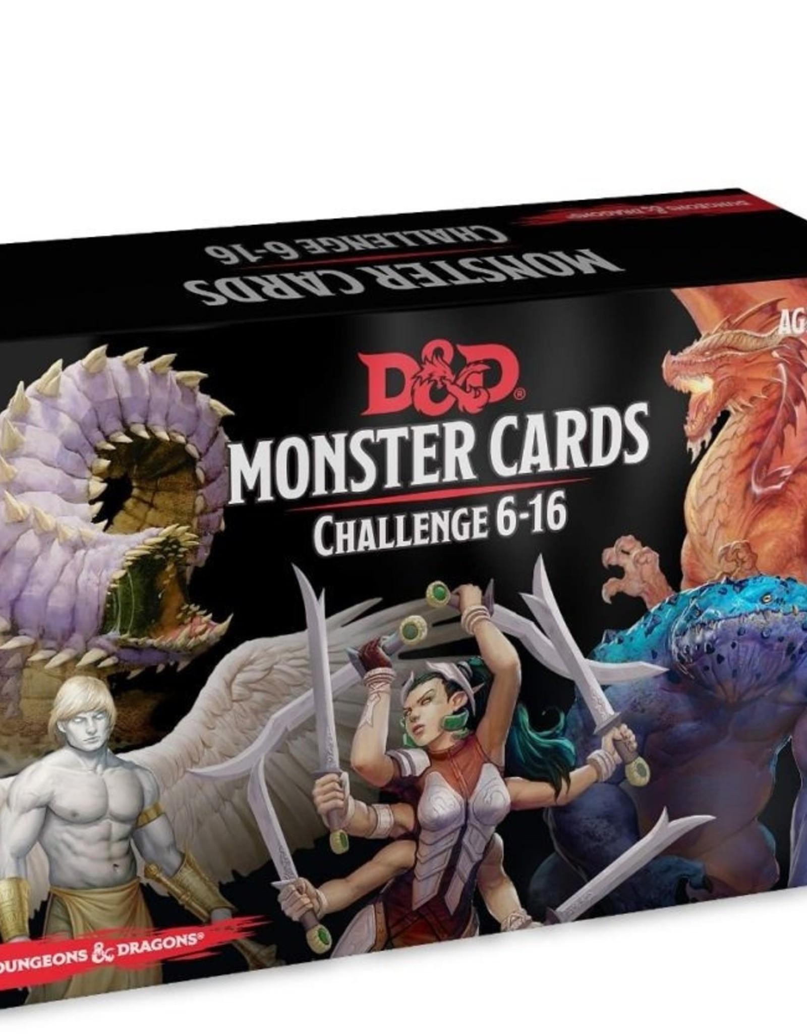 Gale Force Nine D&D 5th ed. Monster Cards Challenge 6-16