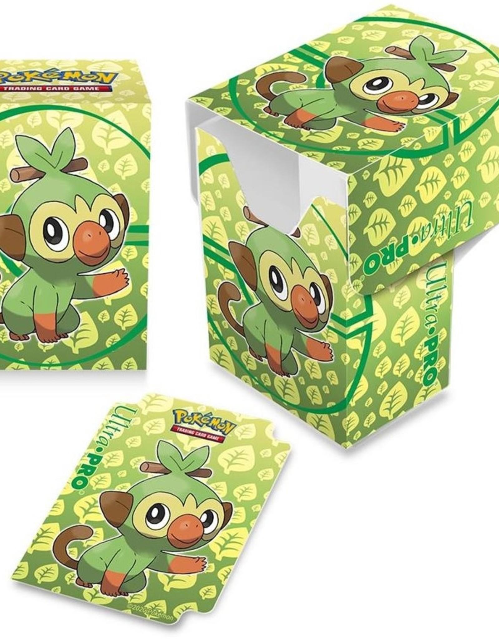 Ultra Pro Deck Box Pokemon Sword & Shield Galar Starters Grookey