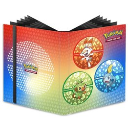 Ultra Pro Pro-Binder Pokemon Sword & Shield Galar Starters 9-pocket