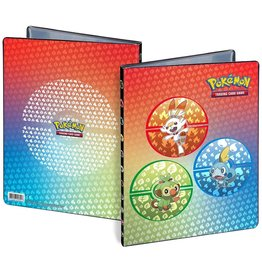 Ultra Pro Portfolio Pokemon Sword & Shield Galar Starters 4-Pocket