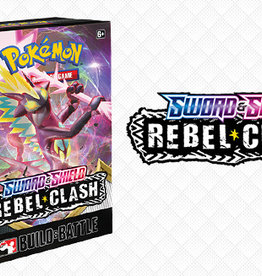 Pokemon USA Pokemon Sword and Shield Rebel Clash Build and Battle Kit