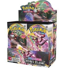 Pokemon USA Pokemon Sword and Shield Rebel Clash Booster Box