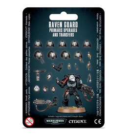 Games Workshop Space Marines Raven Guard Primaris Upgrades