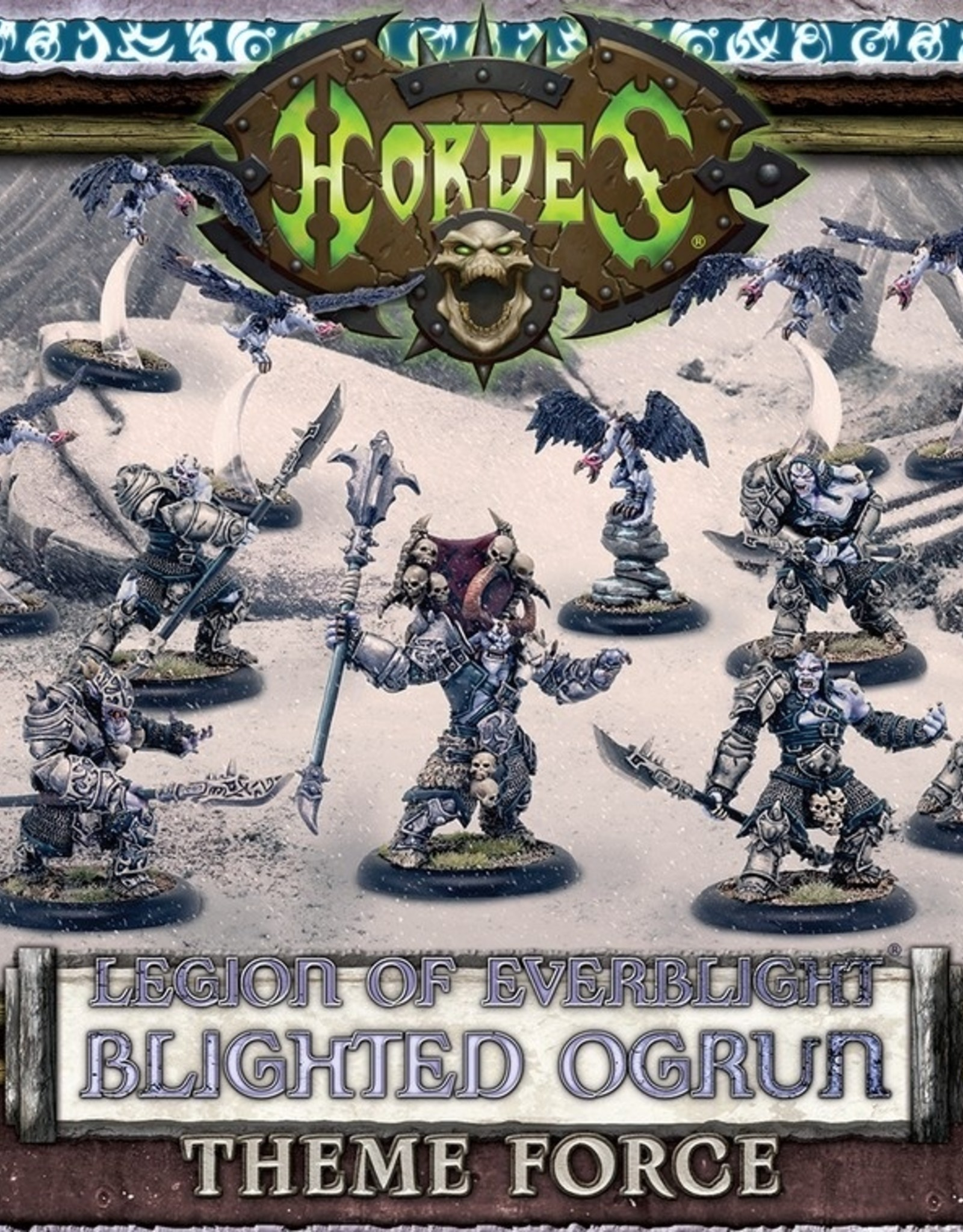 Privateer Press Everblight Blighted Ogrun Legion Army Box
