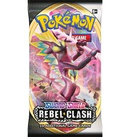 Pokemon USA POK S&S Rebel Clash Booster