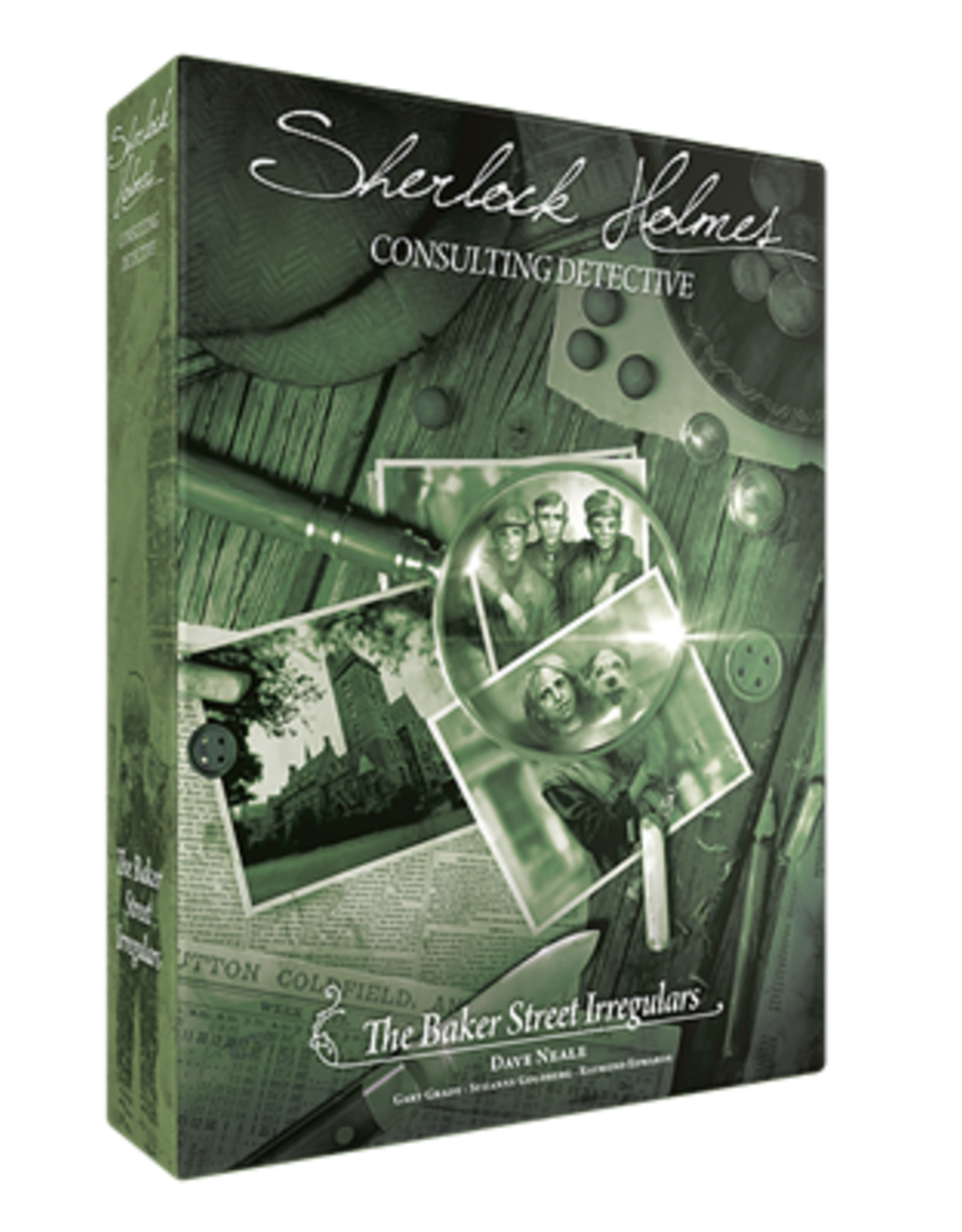 Space Cowboys Sherlock Holmes Consulting Detective, The Baker Street Irregulars