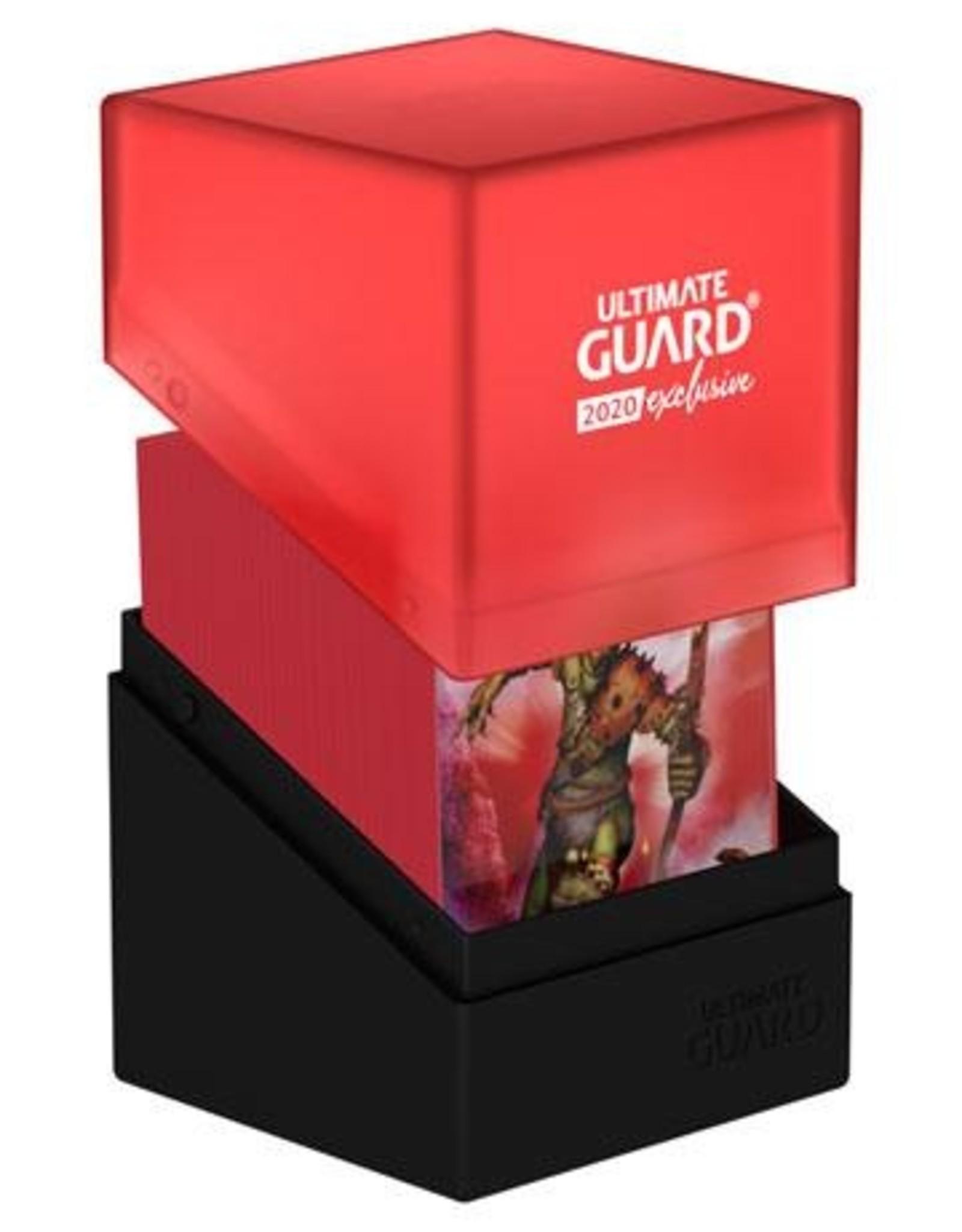 Ultimate Guard Boulder Deck Case Black/Red 2020 Exclusive 100+