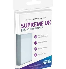 Ultimate Guard Supreme UX 3rd Skin Sleeves Standard Size Transparent (50)