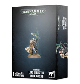 Games Workshop Inquisition Lord Inquisitor Kyria Draxus