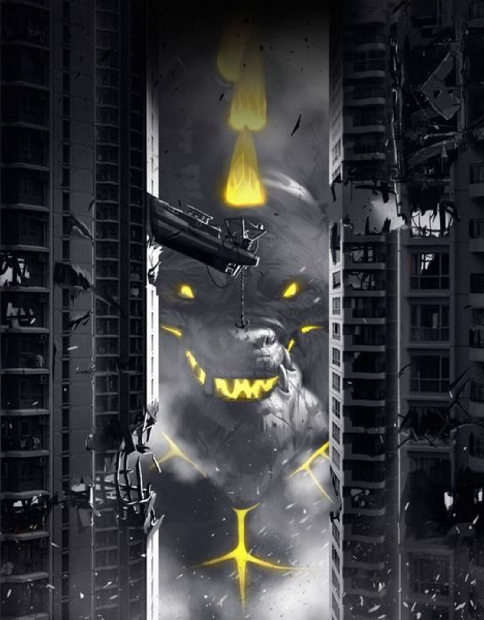Iello King of Tokyo Dark Edition (EN)