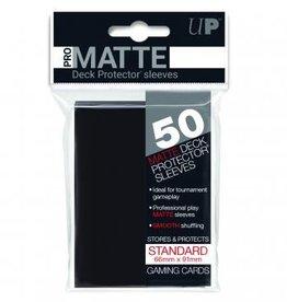 Ultra Pro Sleeves, Standard Pro-Matte Black (50)