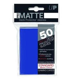 Ultra Pro Sleeves, Standard Pro-Matte Blue (50)