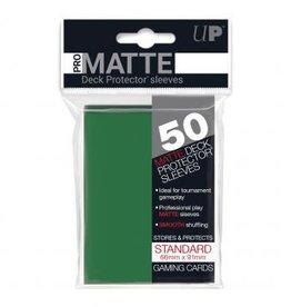 Ultra Pro Sleeves, Standard Pro-Matte Green (50) [Aanbieding]