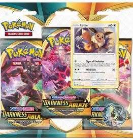 Pokemon USA POK S&S Darkness Ablaze 3 Booster Blister