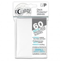 Ultra Pro Sleeves, Small Eclipse White (60)