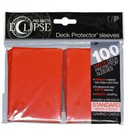 Ultra Pro Sleeves, Standard Eclipse Apple Red (100)