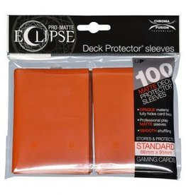 Ultra Pro Sleeves, Standard Eclipse Pumpkin Orange (100)