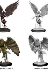 Wizkids D&D Nolzur's Marvelous Miniatures Harpy and Aarakocra