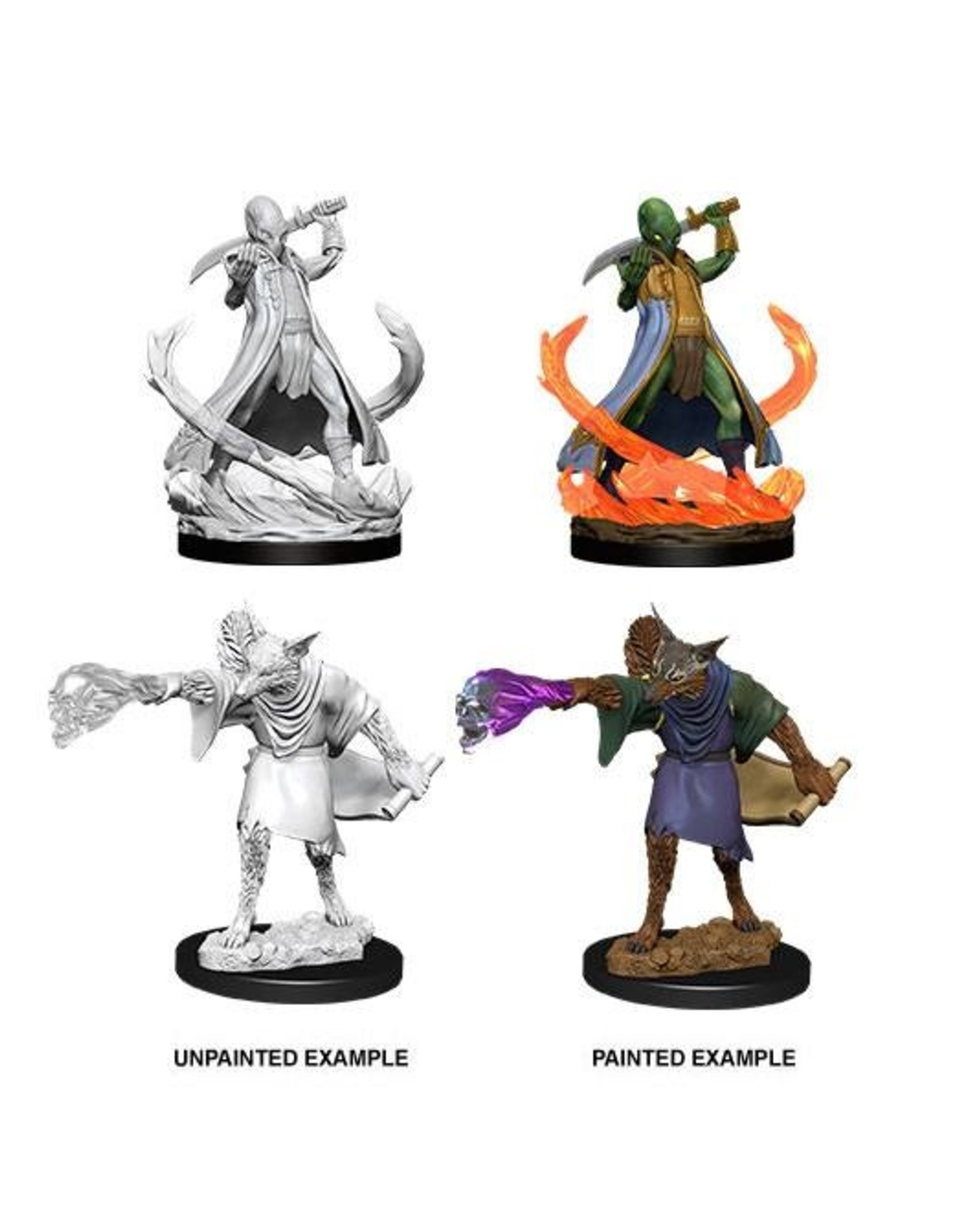 Wizkids D&D Nolzur's Marvelous Miniatures Arcanaloth and Ultroloth