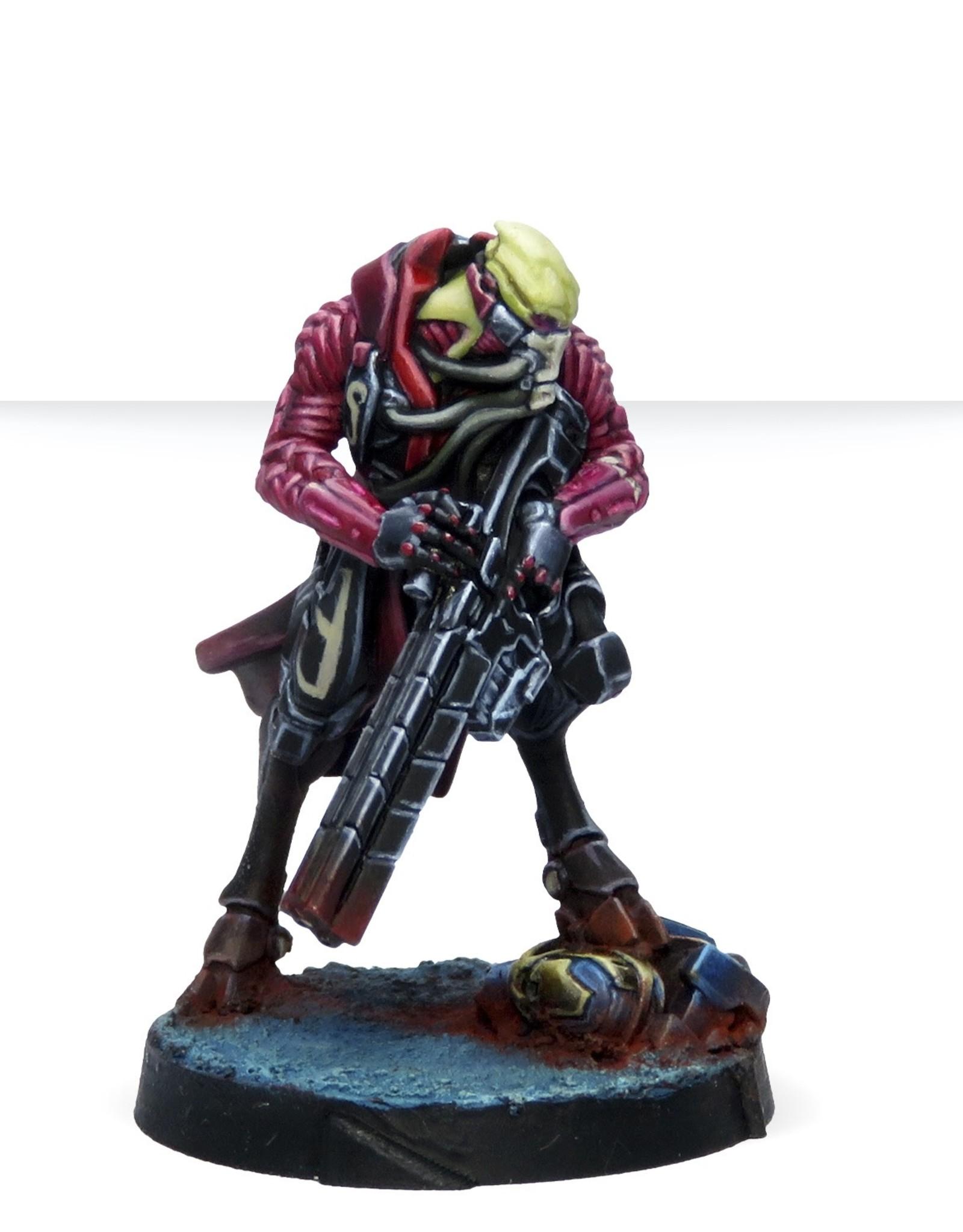 Corvus Belli Combined Army Shasvastii Mentors (Shock Marksman Rifle)