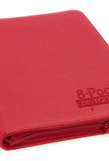 Ultimate Guard 8-Pocket ZipFolio XenoSkin Red