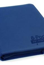 Ultimate Guard 8-Pocket ZipFolio XenoSkin Blue