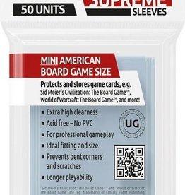 Ultimate Guard Supreme Boardgame Sleeves Mini American (50) (44x67mm)